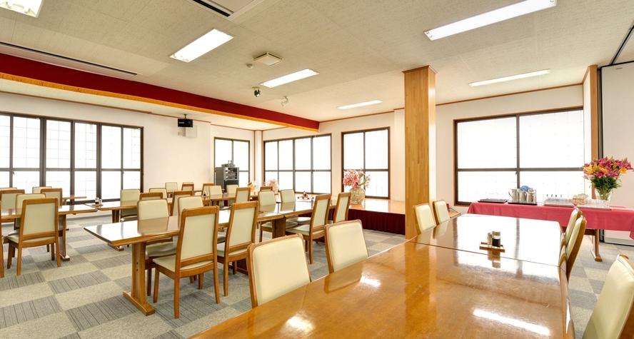*お食事処/朝夕のお食事はこちらで。新潟の旬味をごゆっくりご賞味下さい。