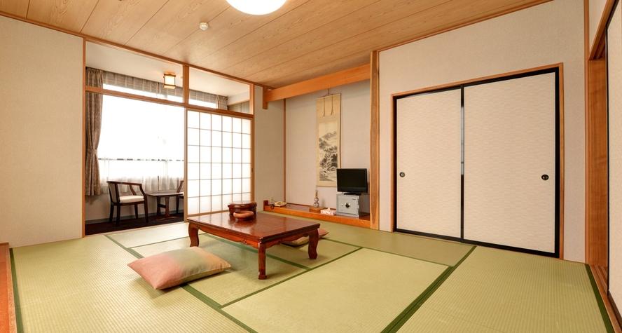 *和室10畳(客室一例)/畳のお部屋でのんびりとお寛ぎください。