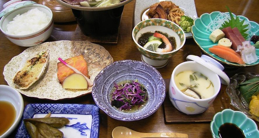 *旬のお料理(夕食一例)