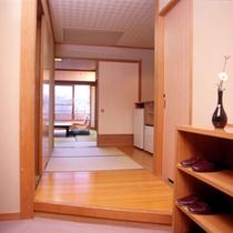 新館和室入口