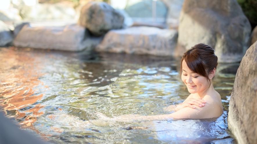 男女3か所ずつの露天風呂がお楽しみいただけます。