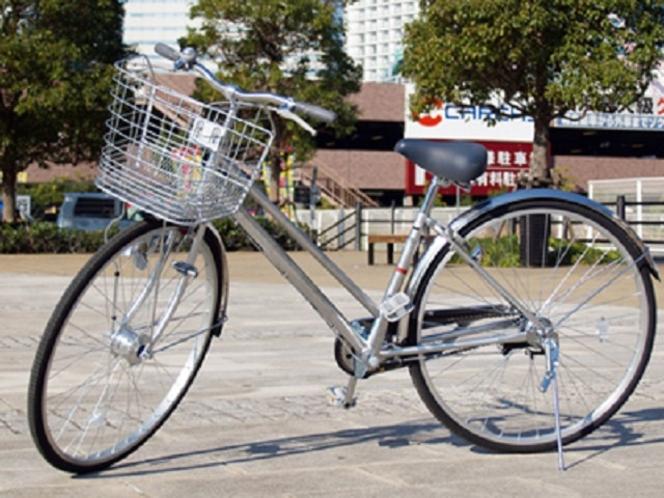 【無料貸し出しサービス】ちょっとしたお買い物や観光にレンタル自転車をご利用ください。