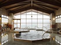 温泉 檜大浴場