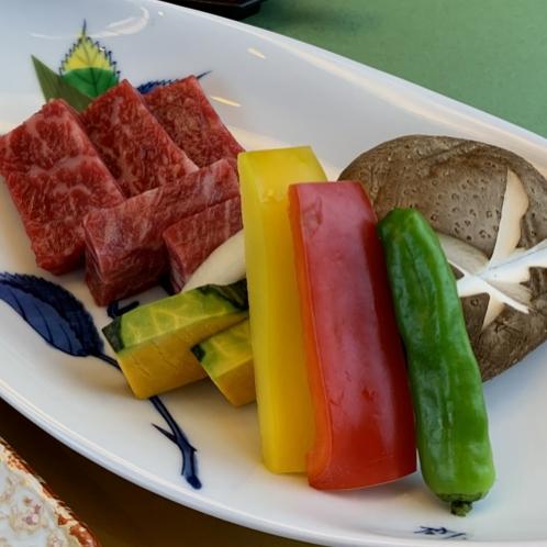 【夏】和牛石焼