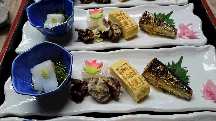 盛り合わせ・秋(宴会料理の先附)