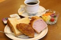 朝食盛り付け例 洋食・和食、ご自由にどうぞ♪