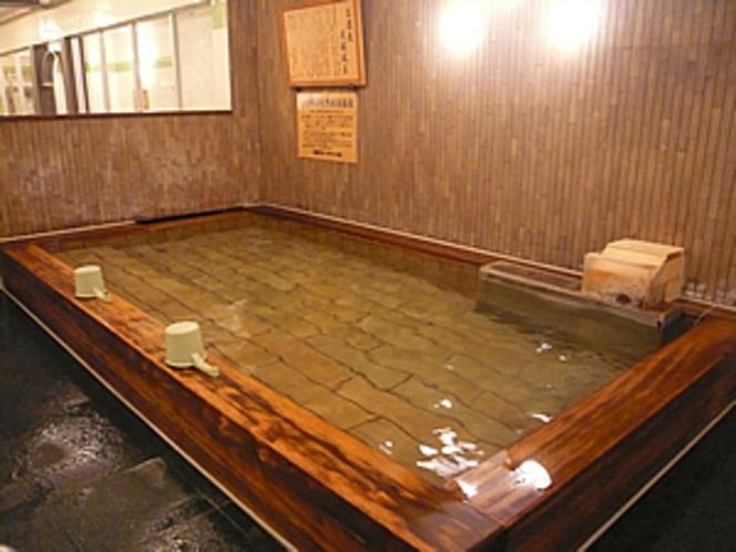 ひのきの炭酸風呂