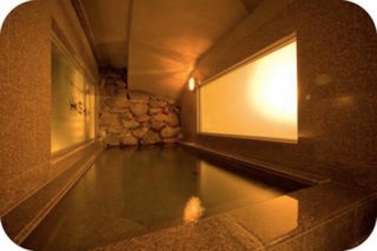 〜人工温泉光明の湯〜男性専用大浴場 洞窟風呂