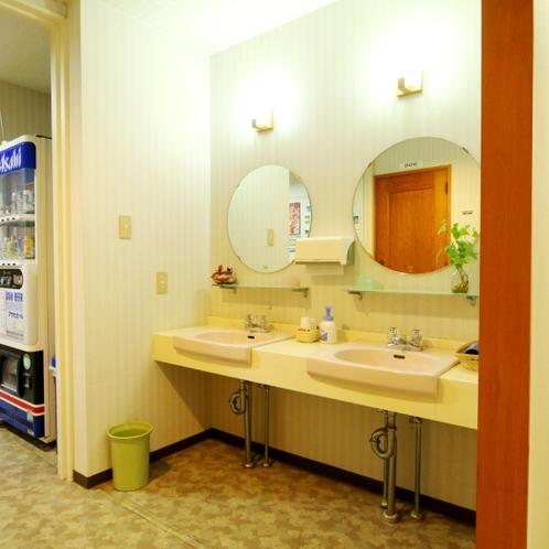 3階の洗面台