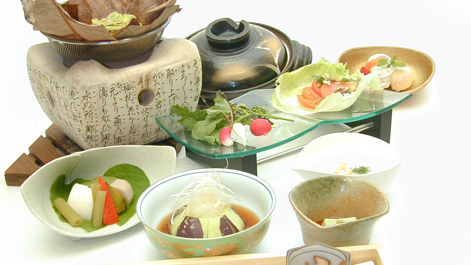 【食事】創作野菜会席