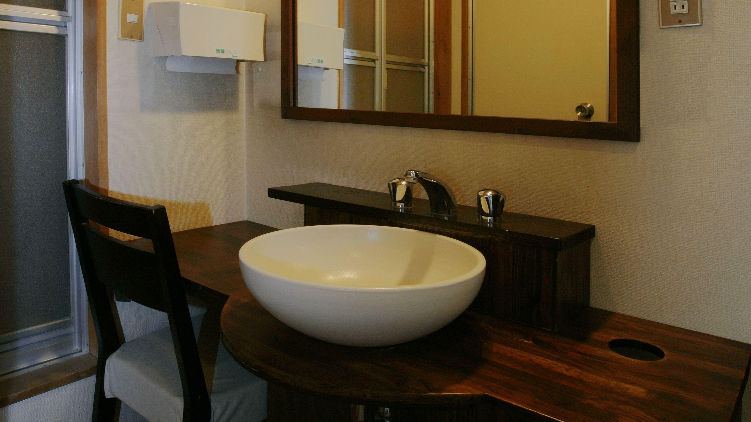 【部屋】3階スタンダードタイプ客室(洗面台)