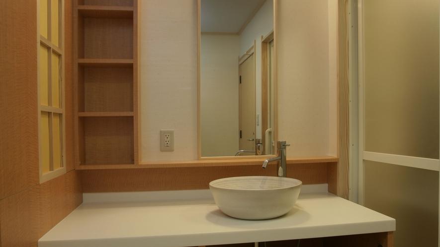 【4階リニューアル客室】和洋室タイプ(洗面台)