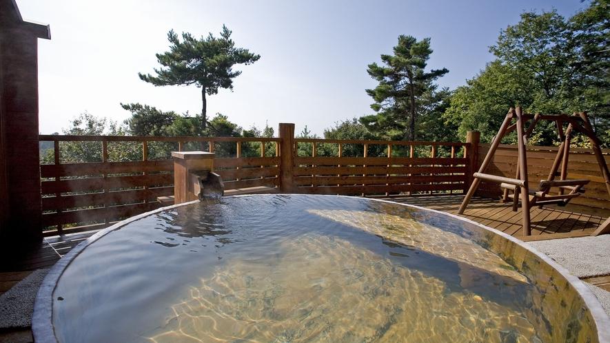 【展望露天風呂「雲の助」】露天大桶風呂(昼間2)