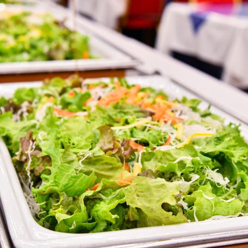 朝食-サラダ-