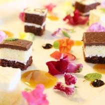 【夕食】ケーキ