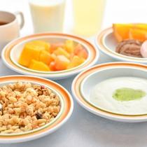 朝食-デザート-