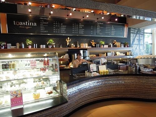 カフェ トスティーナ カウンター