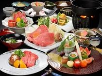 1番人気!「米沢牛牛肉三昧膳コース」