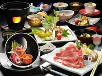 ◆選べる米沢牛・季節の会席膳コース!米沢牛すき焼をチョィス!