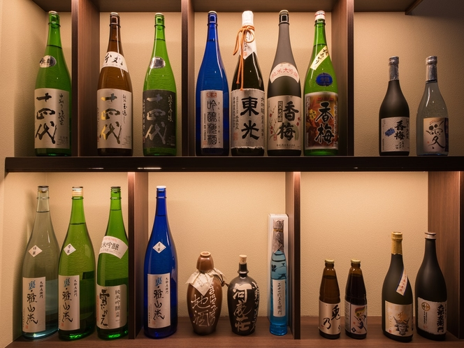 ◆山形・米沢の地酒・ワイン・フルーツJを取り揃えております!