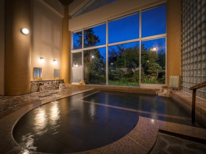 ◆貸切温泉・家族風呂!広~い湯舟が自慢です!