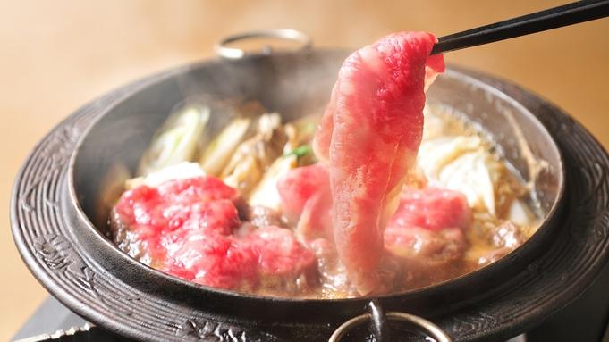 【一番人気!】「とろける〜♪」A5ランク米沢牛すき焼き!特製割り下でどうぞ♪