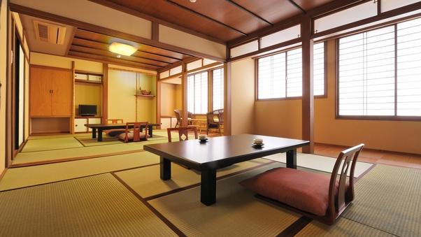 竹【和室16畳+ベッドルーム】2階※禁煙