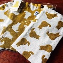 〈当館限定!〉ふくちゃん柄オリジナル米織小紋