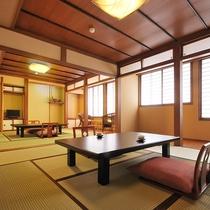 本館【和室16畳+ベッドルーム】(2階、禁煙)