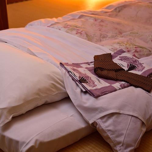 温泉で疲れを癒して、ごゆっくりおやすみください♪