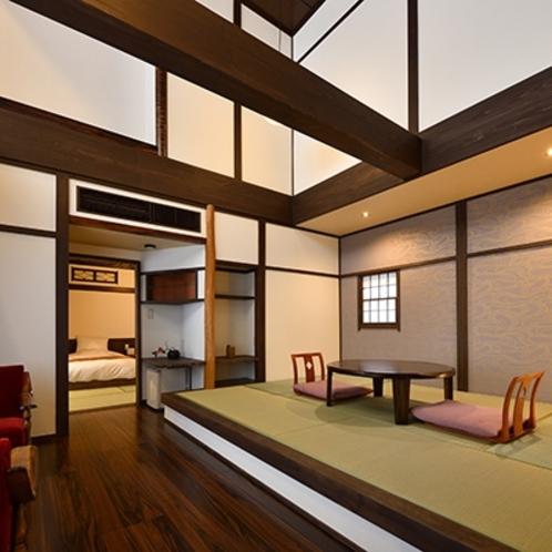 中館【ゆり】1階☆リビング和室+ベッドルーム(禁煙)■2019年3月リニューアル■
