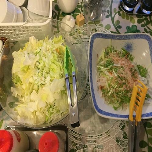 ◆キャベツと大根のサラダ(サラダは日によって異なります)