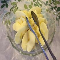 ◆季節の果物(長野産りんご ※季節によって異なります)