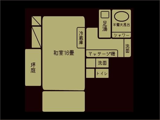 【はなみずき客室指定プラン】上州牛付里山の懐石を個室でお食事&貸切風呂無料特典付