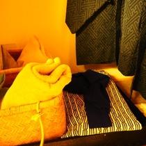 【客室共通サービス】浴衣、帯、足袋ご用意しております!