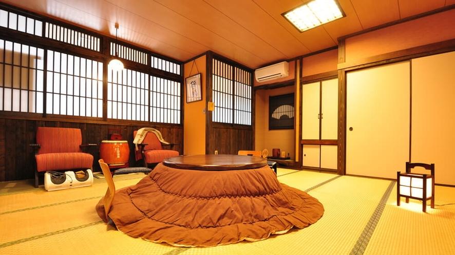 【ななかまど】半露天風呂付客室のお部屋