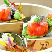 【ご夕食】里山の懐石の一品一例(秋)