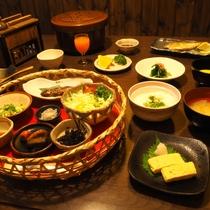 【ご朝食】身体にやさしい和食膳