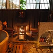 【やまぼうし】露天陶器風呂付客室のお風呂はもちろん源泉かけ流しのにごり湯!