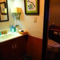 【和室8畳】洗面とトイレ