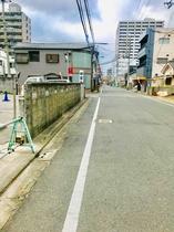 第3駐車場(祥雲寺というお寺の看板ある所に)