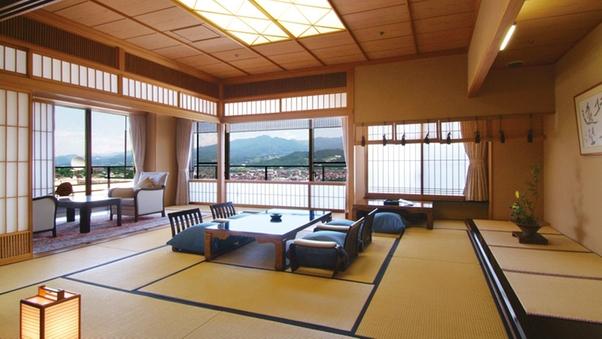 【貴賓室和室】眺めが最高!最上階8Fの豪華な和室