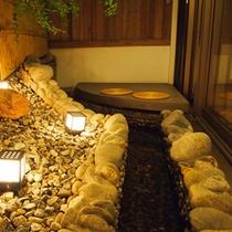 【茶寮露天風呂付客室】ほっこり温まれる露天風呂付客室