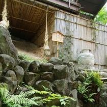 「古窯」の名は敷地内から発掘された、今から約1,300年前の奈良時代の窯跡にちなんで名づけられました。