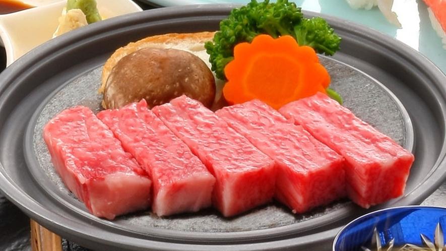 山形牛ステーキ(イメージ)