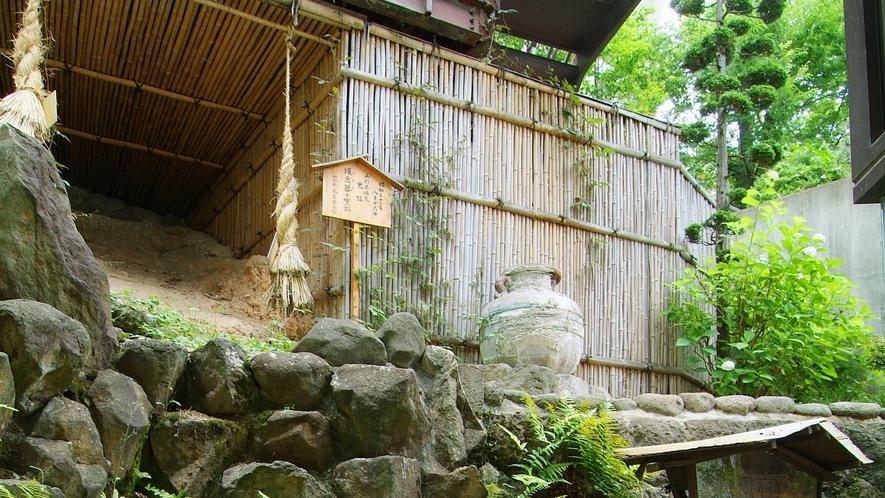 「古窯」の名は敷地内から発掘された、今から約1,300年前の奈良時代の窯跡にちなんで名づけられました
