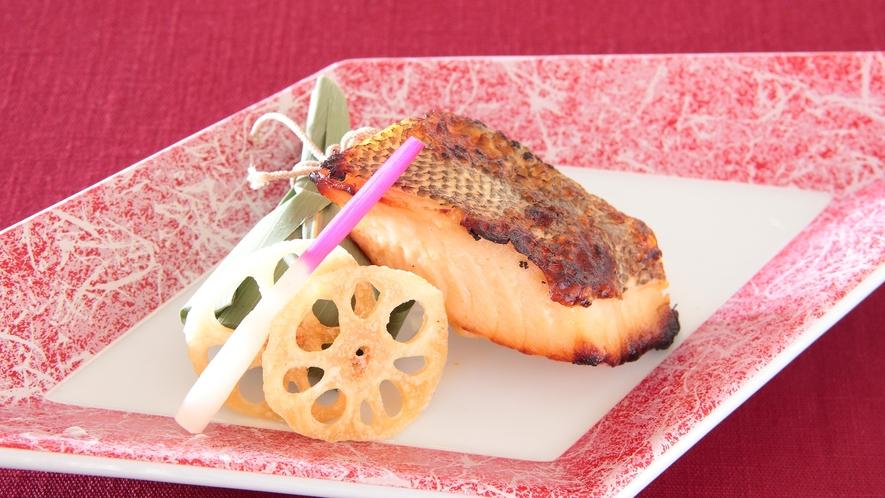 【新春 日本料理コース】黒むつ柚子香焼き(イメージ)