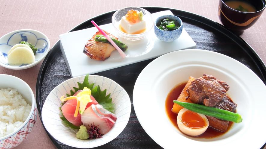 ★豚角煮定食(アラカルトメニュー)