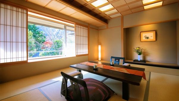 ■萩の倉スタンダード客室■ (禁煙)「窓越しの四季」を楽しむ