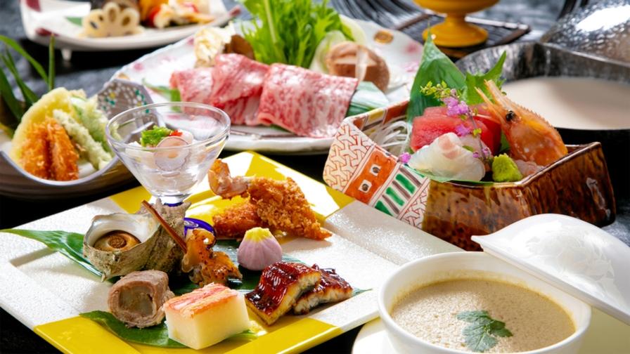 ふくしま応援【料理長おまかせ会席-旬-】 その時期いちばん美味しいものを、いちばん美味しい調理方法で